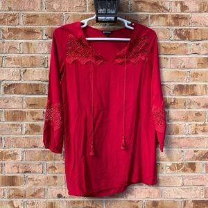 Red express dress